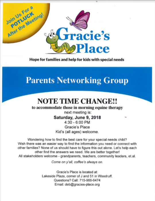 Parent Networking Group Info