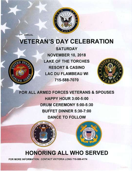 LOTC Veterans Day Event