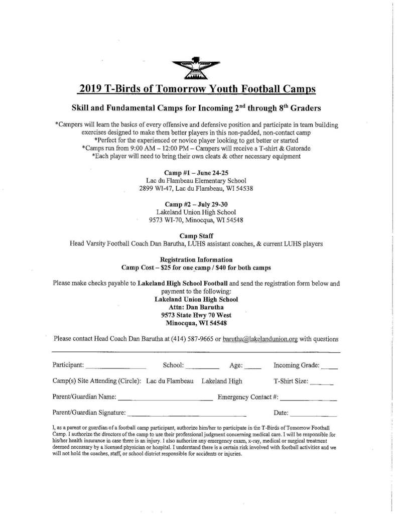 Football Camps