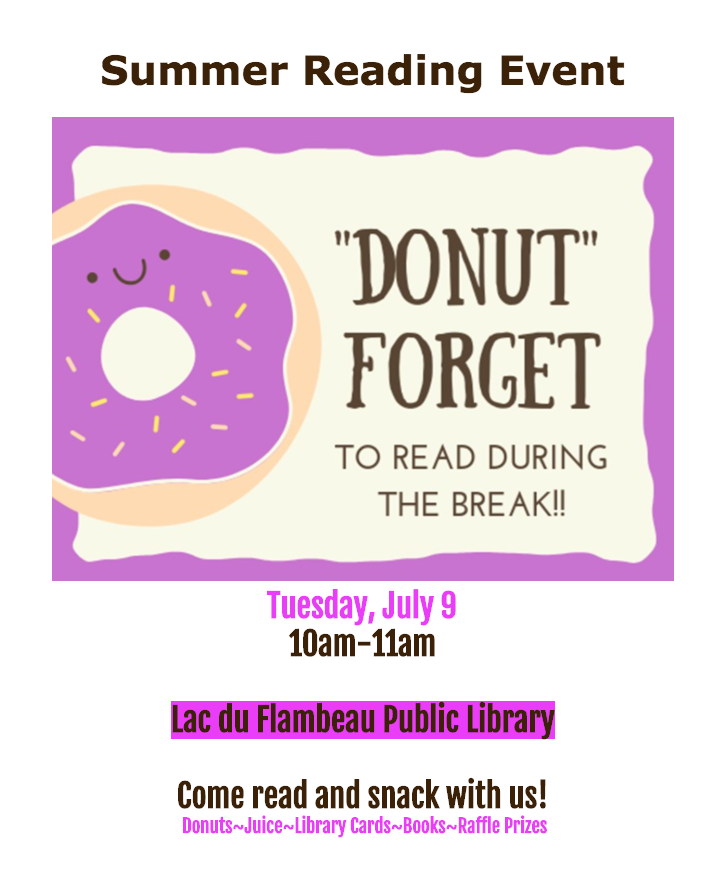 Summer Reading Event