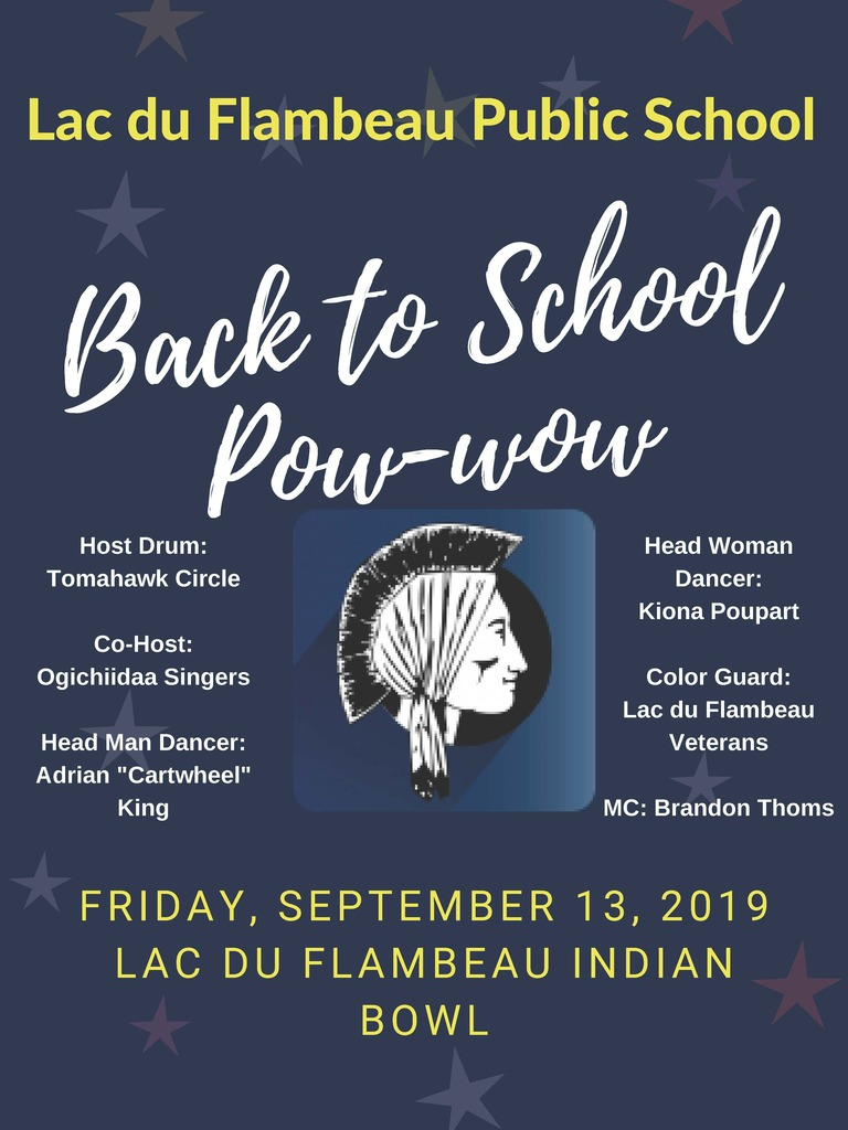 Welcome Back to School Pow Wow!
