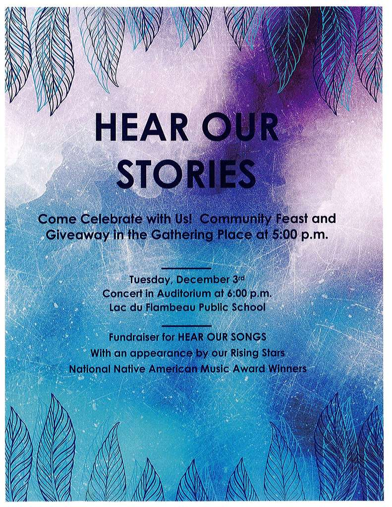 Hear Our Stories Event
