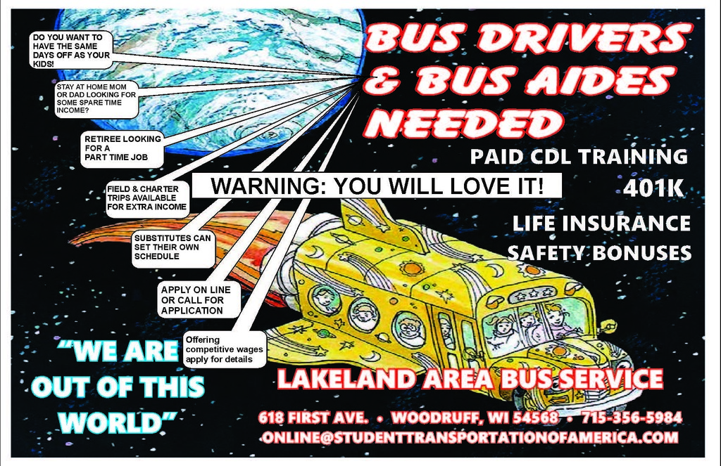 Lakeland Area Bus Info from them