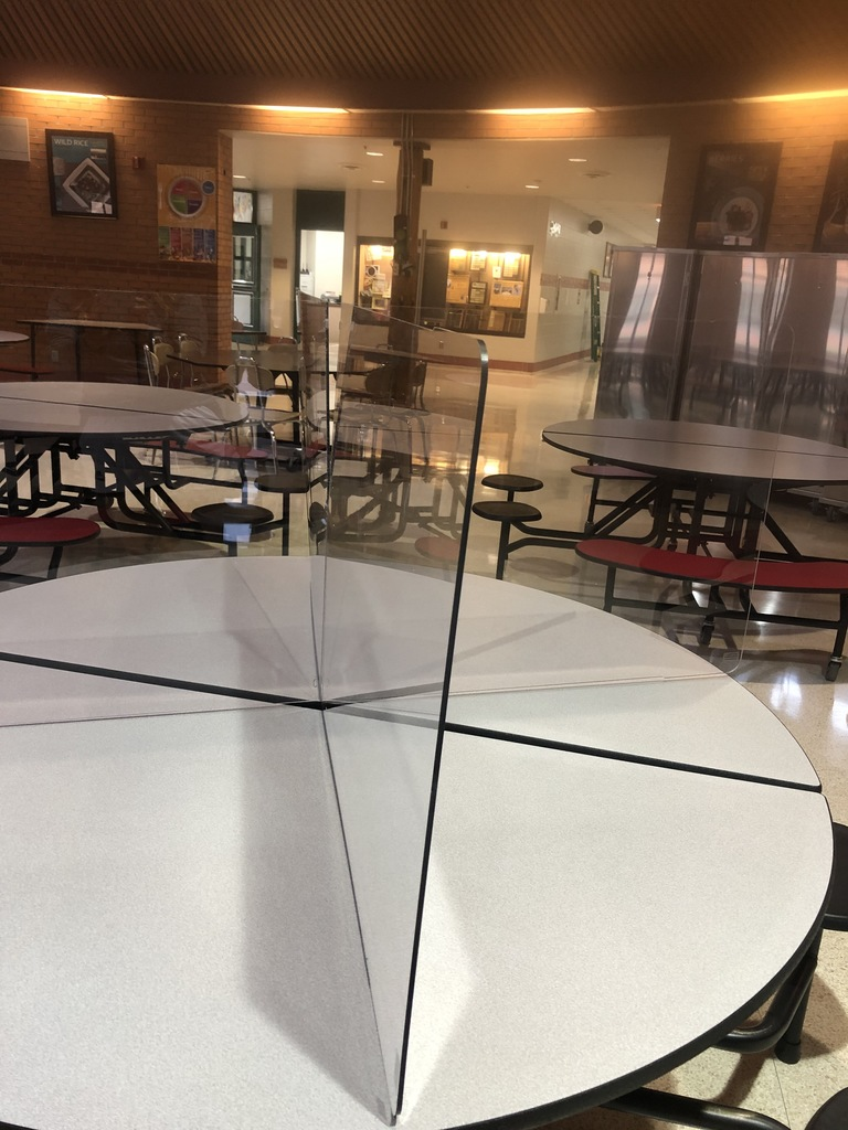 Cafeteria Table Dividers